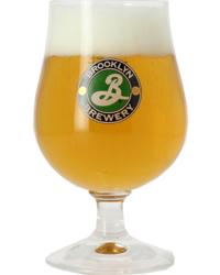 Biergläser - Brooklyn Brewery Bierglas - grünes Logo