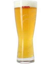 Biergläser - Verre Kirin Ichiban Plat - 50cL