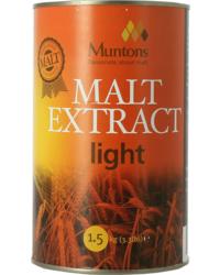 Extrait de malt - Extrait de malt Muntons liquide blond 1,5kg