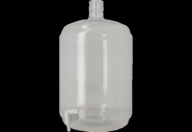 Dames-Jeannes - 23-litre PET demijohn without tap