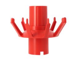 Imbottigliamento - Elemento per scolabottiglie rotante in plastica.