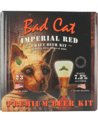 Kit à bière - Kit à bière Bulldog Bad Cat Imperial Red