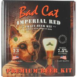 Kit à bière - Kit à bière Bulldog Bad Cat Imperial Red