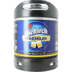 Diekirch Premium PerfectDraft 6-litre Barril