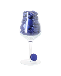 Bottelen - Kroonkurken 29 mm encart profilé - bleue