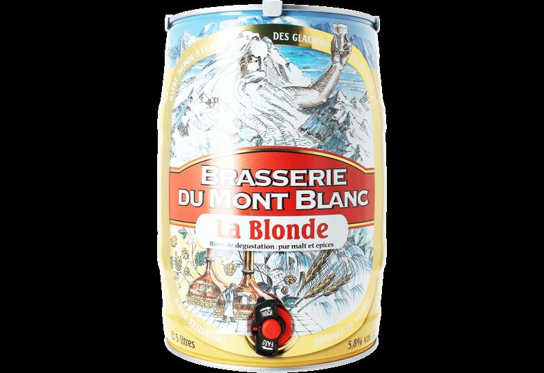 Fässer - Mont Blanc - Blond - 5 Liter-Fass