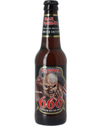Flessen - Iron Maiden Trooper 666 Limited Edition