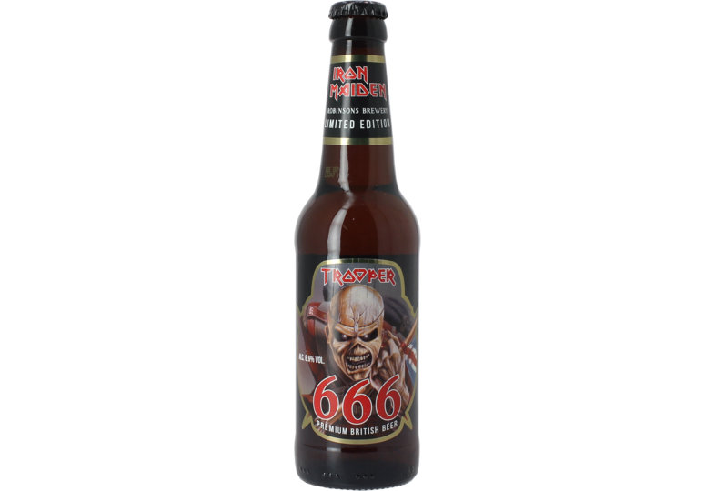 Bouteilles - Iron Maiden Trooper 666 Limited Edition