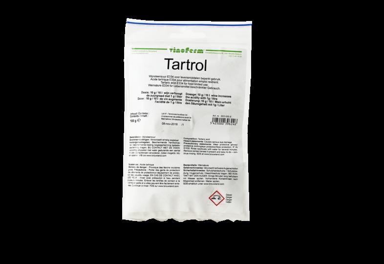 Additifs de brassage - Acide tartrique en poudre 100g
