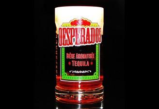 Verre Large Desperados Aromatisee Tequila De La Brasserie Alascienne