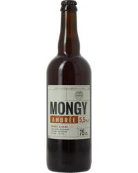 Flaschen Bier - Mongy Ambrée 75 cL