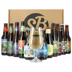 Cofanetti Saveur Bière - Confezione regalo Buon Natale