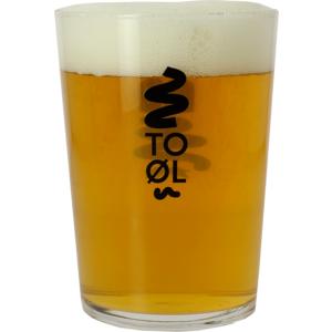 To Øl Bodega-glas
