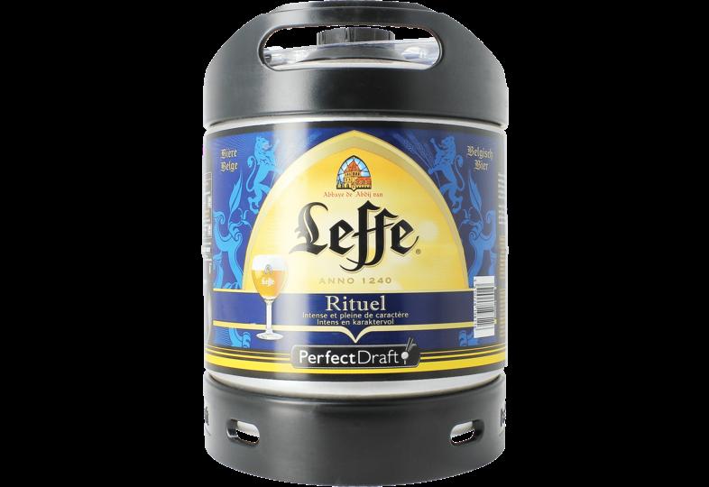 Bier Tapvatjes - Leffe Rituel 9° PerfectDraft Vat 6L