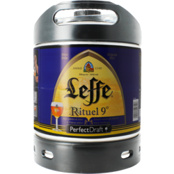 Tapvaten - Leffe Rituel 9° PerfectDraft Vat 6L