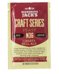 Levures pour fermentation - Levure Mangrove Jack's Liberty Bell Ale M36 10g
