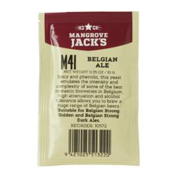 Levures de brassage - Mangrove Jack's Belgian Ale M41 yeast 10g