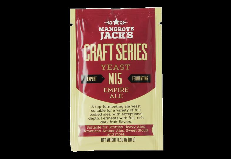 Levures pour fermentation - Levure Mangrove Jack's Empire Ale M15 10g