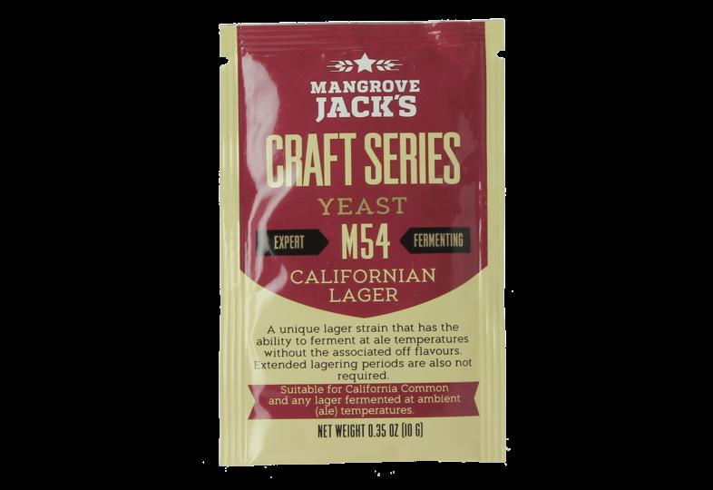 Levures pour fermentation - Levure Mangrove Jack's California Lager M54 10g