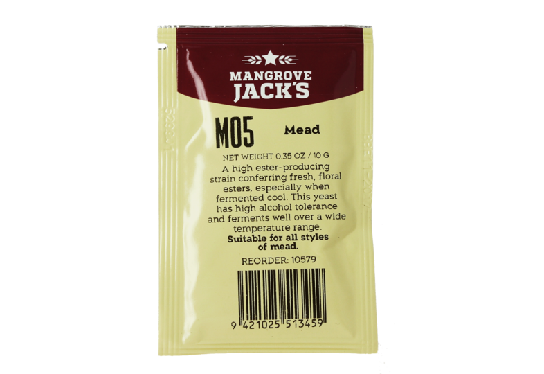 Levures pour fermentation - Levure Mangrove Jack's Mead M05 10g