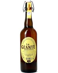 Flaschen Bier - La Géante