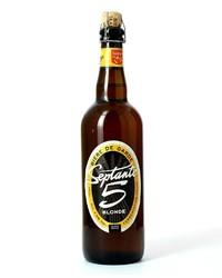 Flaschen Bier - Septante 5 Blonde