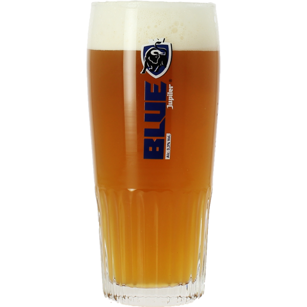 Jupiler Blue stange glass - 25 cl