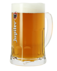Beer glasses - Jupiler Bock 50cl glass