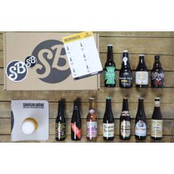 Coffrets Saveur Bière - Coffret Franco-Belge