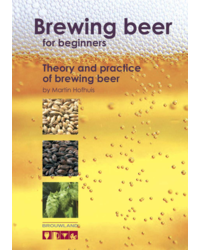 """Livres sur la fabrication de la bière - Boek """"Brouwen voor beginners"""" van M. Hofhuis"""