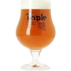 Verres à bière - Verre Triple Secret des Moines - 25 cl