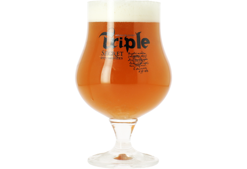 Beer glasses - Secret des Moines Triple 25cl glass