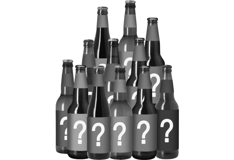 Bierpakketten - Mystery Box - 12x33cl