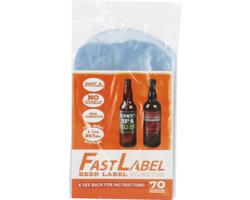 Matériel et produits pour remplir les bouteilles - Etiquettes FastLabel pour bouteilles 33 cl 70 pieces