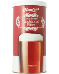 Bière classement par degrés - Kit à bière Muntons Connoisseurs Traditionnal Bitter