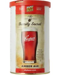 Kits de bières - Kit à bière Coopers Amber Ale Family Secret