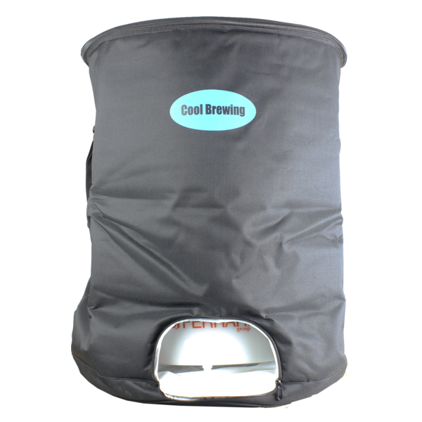 Cool Brewing Insulated jacket for fermentation tank.
