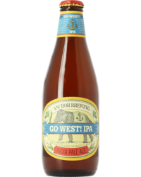 Bottled beer - Anchor Go West IPA