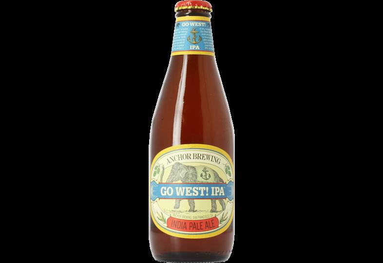 Flaschen Bier - Anchor Go West IPA