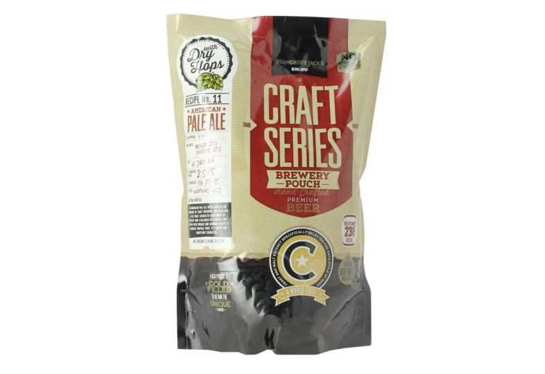 Kit de bière - Mangrove Jack's Craft Series American Pale Ale Beer Kit