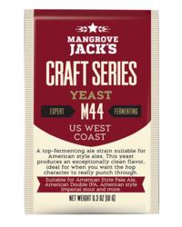 Levures pour fermentation - Levure Mangrove Jack's US West Coast M44 10g