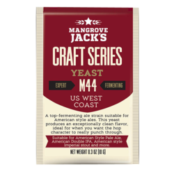 Levures de brassage - Mangrove Jack's US West Coast M44 yeast 10g