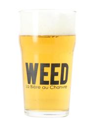 Vasos - Verre Weed - 25 cl
