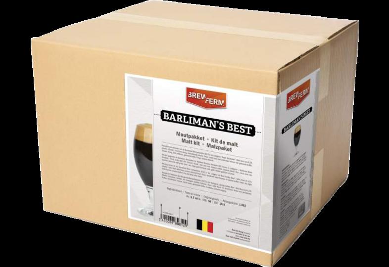 Ricette all-grain (tutto grano) - Kit solo grani Brewferm Barliman's Best
