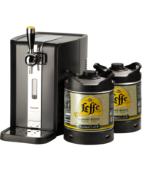 Beer dispensers - Party Pack PerfectDraft - BeerPump + 2 Leffe Blonde Kegs