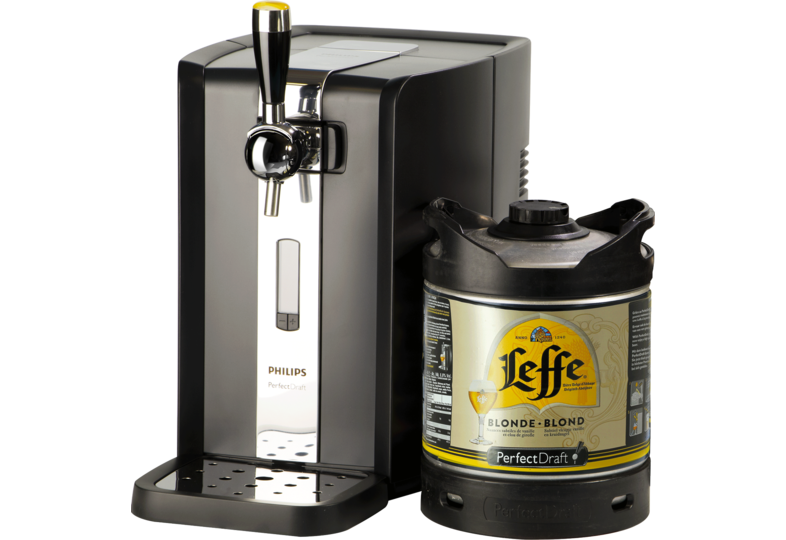 Bierzapfanlagen - Leffe Blond PerfectDraft Party Pack - Zapfanlage + 6L Fass