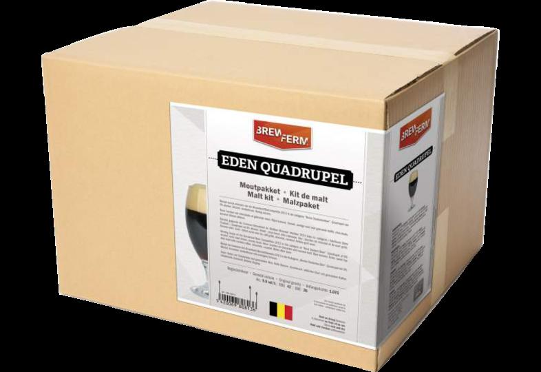 Recettes de malts tous grains - Kit de malt tout grain Brewferm Eden Quadrupel