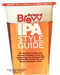 Livres sur la fabrication de la bière - IPA Style Guide by BYO
