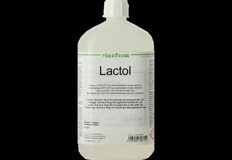 Additifs de brassage - Acide lactique 1L