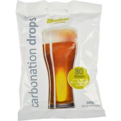 Additifs de brassage - Pastilles de sucre/ Carbonation drops Muntons 160g